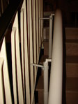 monte-escalier courbe