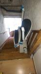 Monte-escalier extérieur